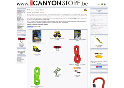 canyonstore.be — the one stop shop