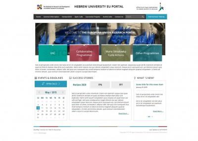 Hebrew University EU