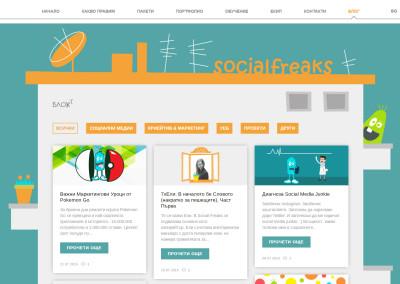SocialFreaks Blog